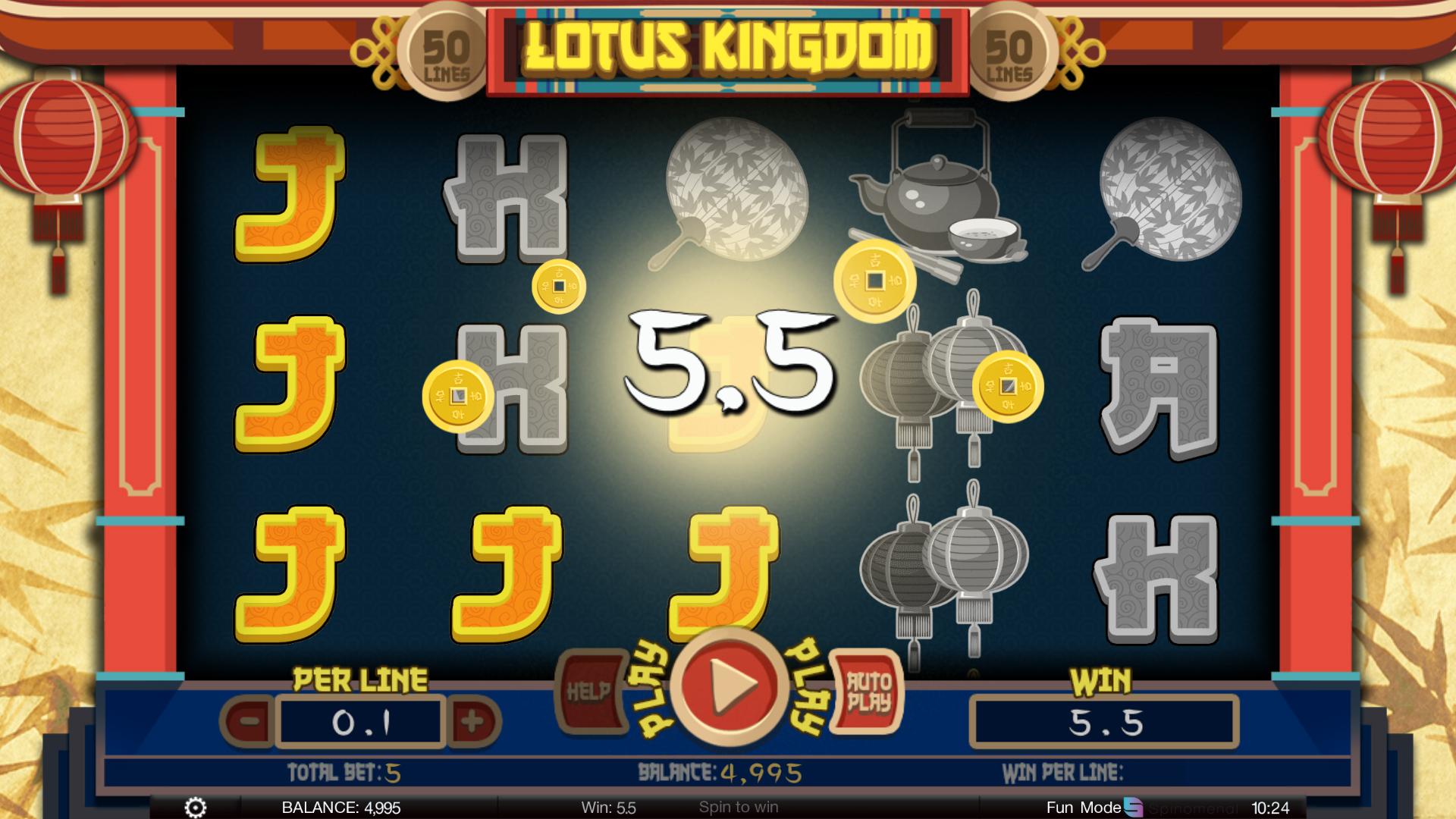 Lotus Kingdom Spinomenal